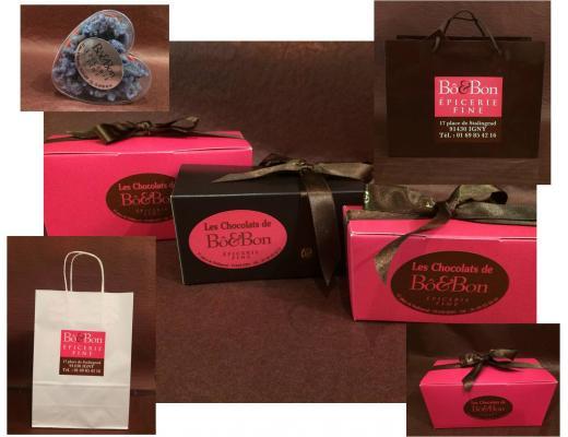 Etiquette Boîtes de chocolat