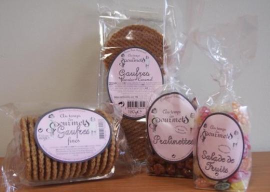 Etiquettes Adhésives Assortiment de biscuits